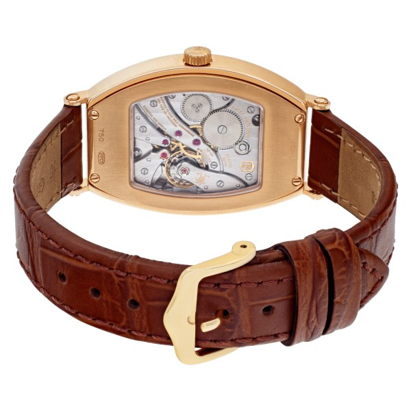 Patek Philippe Gondolo 5098R-001 18k rose gold Silver dial 32mm Manual watch