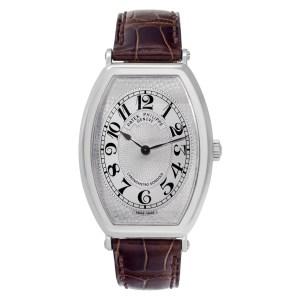 Patek Philippe Gondolo 5098P Platinum Silver dial 32mm Manual watch