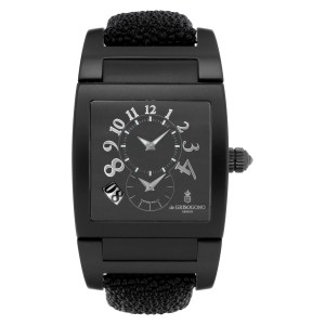 De Grisogono Uno  DF N726 Stainless Steel Black dial 33mm Automatic watch