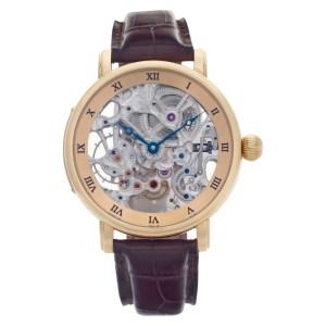 Ulysse Nardin Maxi Skeleton 3006 200 18k rose gold 44mm Manual watch