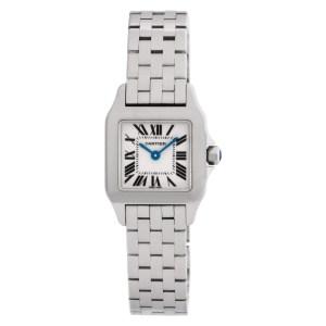 Cartier Demoiselle W25064Z5 Stainless Steel dial 20mm Quartz watch