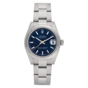 Rolex Datejust 178274 Stainless Steel Blue dial 31mm Automatic watch