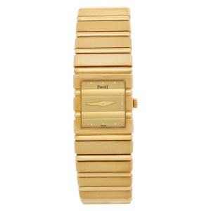 Piaget Polo 8131C701 18k Gold dial mm Quartz watch