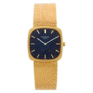Patek Philippe Ellipse 3566 18k Blue dial 29mm Manual watch