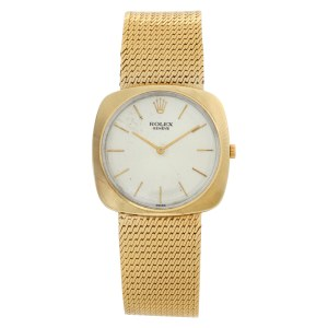 Rolex Cellini 605 14k 30mm Manual watch