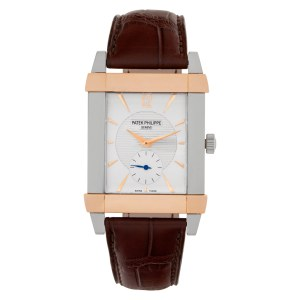 Patek Philippe Gondolo 5111PR Platinum Silver dial mm Manual watch
