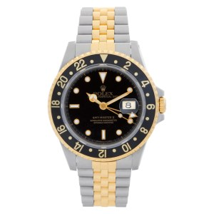 Rolex GMT-Master II 16713 18k & steel 40mm auto watch