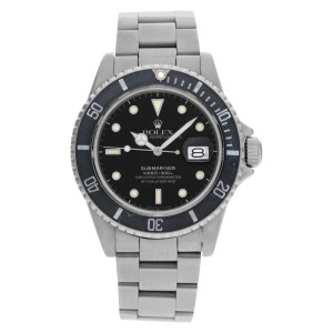 Rolex Submariner 16800 stainless steel 40mm auto watch