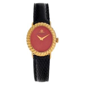 Baume & Mercier Classic 798133 18k Coral dial 22mm Manual watch