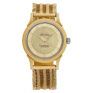 Omega Constellation 2852/2853 18k 35mm auto watch