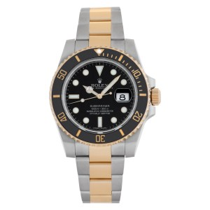 Rolex Submariner 116613LN 18k & Stainless Steel Black dial 40mm Automatic watch