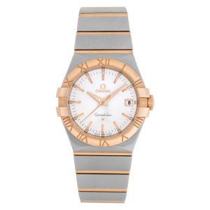 Omega Constellation 123.20.35.60.02.001 Stainless Steel Silver dial 35mm Quartz