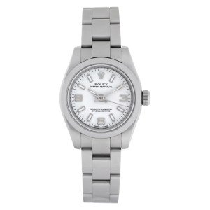 Rolex Oyster Perpetual 176200 Stainless Steel White dial 26mm Automatic watch