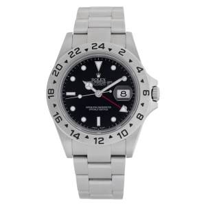 Rolex Explorer II 16570T Stainless Steel Black dial 40mm Automatic watch