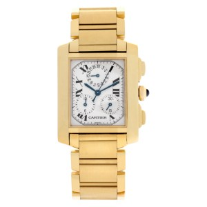 Cartier Tank Francaise W50005R2 18k 28mm Quartz watch