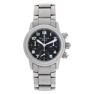 Blancpain Flyback Chrono stainless steel 32mm auto watch