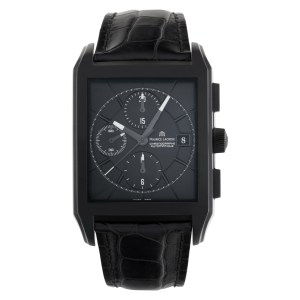 Maurice Lacroix Pontos Rectangulaire pt6197 stainless steel 38mm auto watch