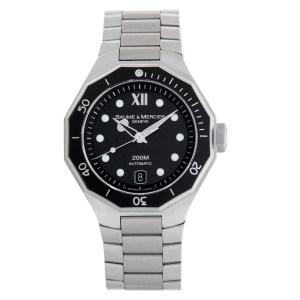 Baume & Mercier Riviera 65625 stainless steel 40mm auto watch