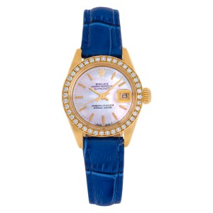 Rolex Datejust 6917 18k 25mm auto watch