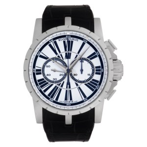 Roger Dubuis Excalibur 6764CZ Stainless Steel White dial 46mm Automatic watch
