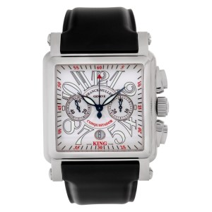 Franck Muller Conquistador 10000 K CC Stainless Steel White dial 44mm Automatic
