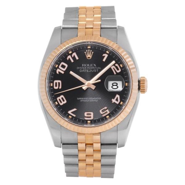 Rolex Datejust 116231 18k & steel 36mm auto watch