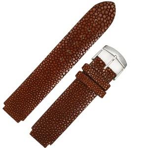 Philip Stein brown stingray strap (18x18)