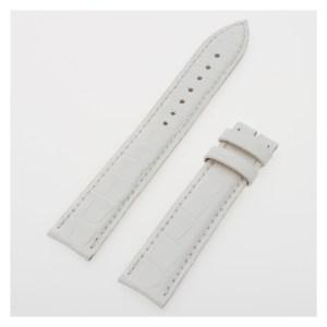 Franck Muller white alligator strap (16.5 x 16)