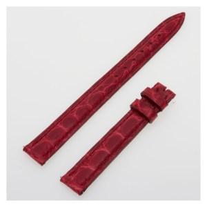 Franck Muller red alligator strap (11 x 9.5)