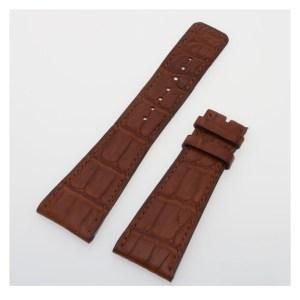 Pierre Kunz brown alligator strap (25 x 18)