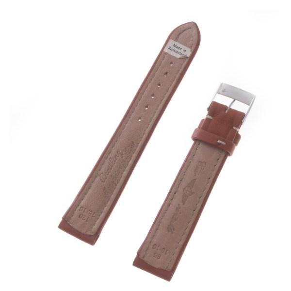 Breitling brown calfskin strap (18mm x  16mm)
