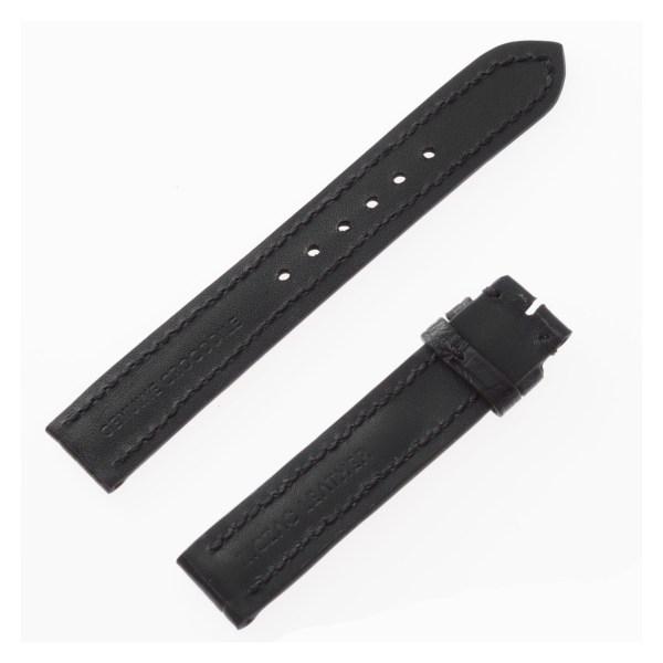 Crocodile black strap (16x16)