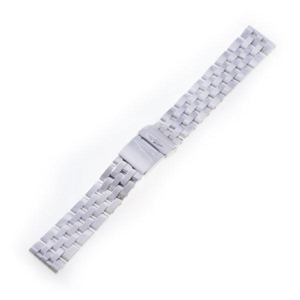 Breitling 20mm Pilot bracelet in stainless steel