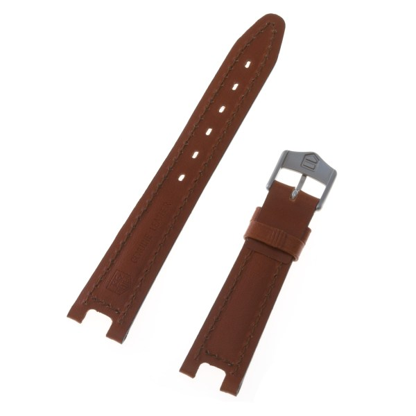 Tag Heuer leather strap with original tang buckle  17 x 13