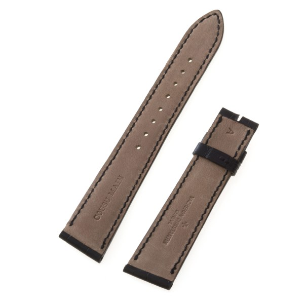 Vacheron Constantin black alligator strap (19x16)
