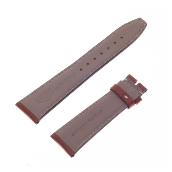 Tag Heuer genuine brown calf leather strap 22mm x 18mm