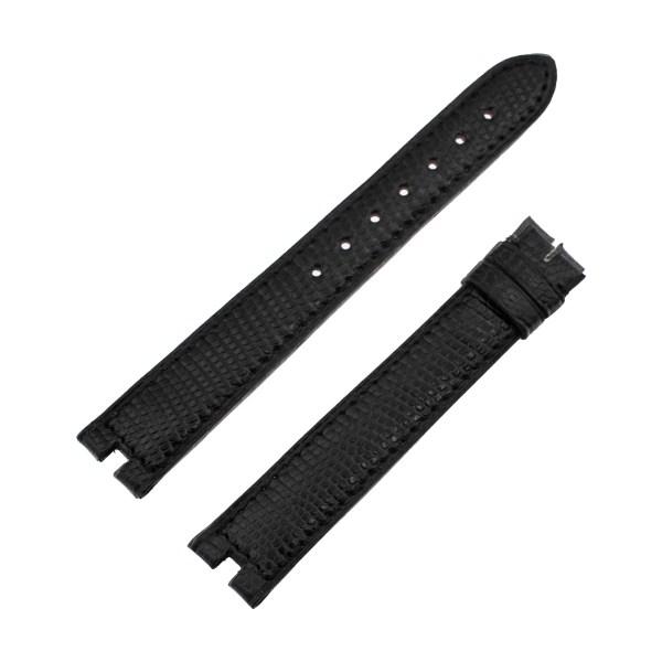 Must de Cartier black lizard strap (16mm x 14mm)
