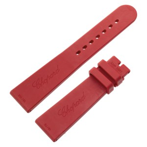 Chopard red band, 19mm x 16mm