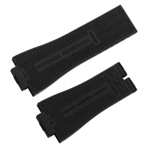 Roger Dubuis black ruber strap for Roger Dubuis AquaMare Small Seconds GA41 27mm x 20.5mm