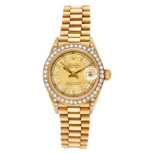 Rolex Datejust 69188 18k Gold dial 26mm Automatic watch