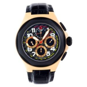Girard Perregaux Laureato 8017862672SBB6B 18k rose gold 46mm auto watch