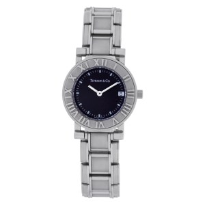Tiffany & Co. Atlas 820.1008 stainless steel 25mm Quartz watch