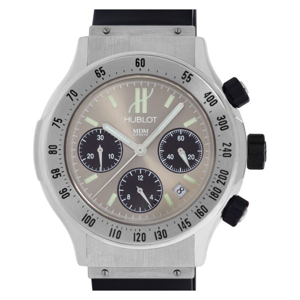 Hublot M D M 1920.1 Stainless Steel Cream dial 42mm Automatic watch