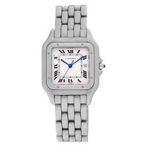 Cartier Panthere W25032P5 stainless steel 29.5mm Quartz watch