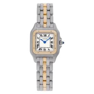 Cartier Panthere W524079 18k & steel 21.5mm Quartz watch