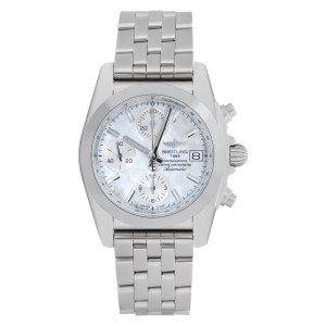 Breitling Chronomat W1331012 Stainless Steel Mother of Pearl dial 36mm Automatic