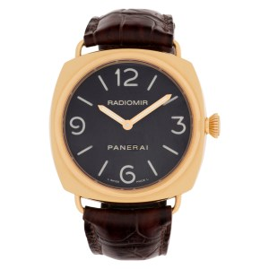 Panerai Radiomir PAM 231 18k rose gold 45mm Manual watch