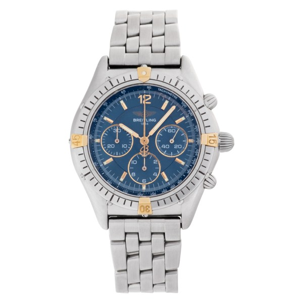 Breitling Chrono Cockpit B30011 Stainless Steel Blue dial 37mm Automatic watch