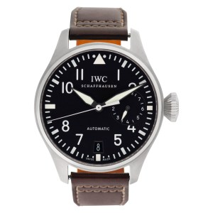 IWC Big Pilot iw501001 Stainless Steel Black dial mm Automatic watch