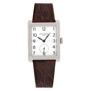 Patek Philippe Gondolo 5010 18k white gold 25mm Manual watch